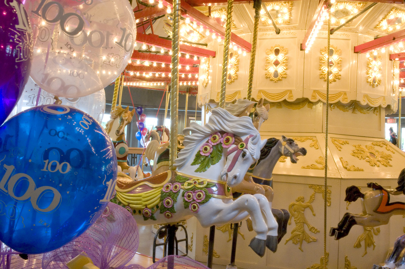 100th Birthday for Burnaby Parker Carousel