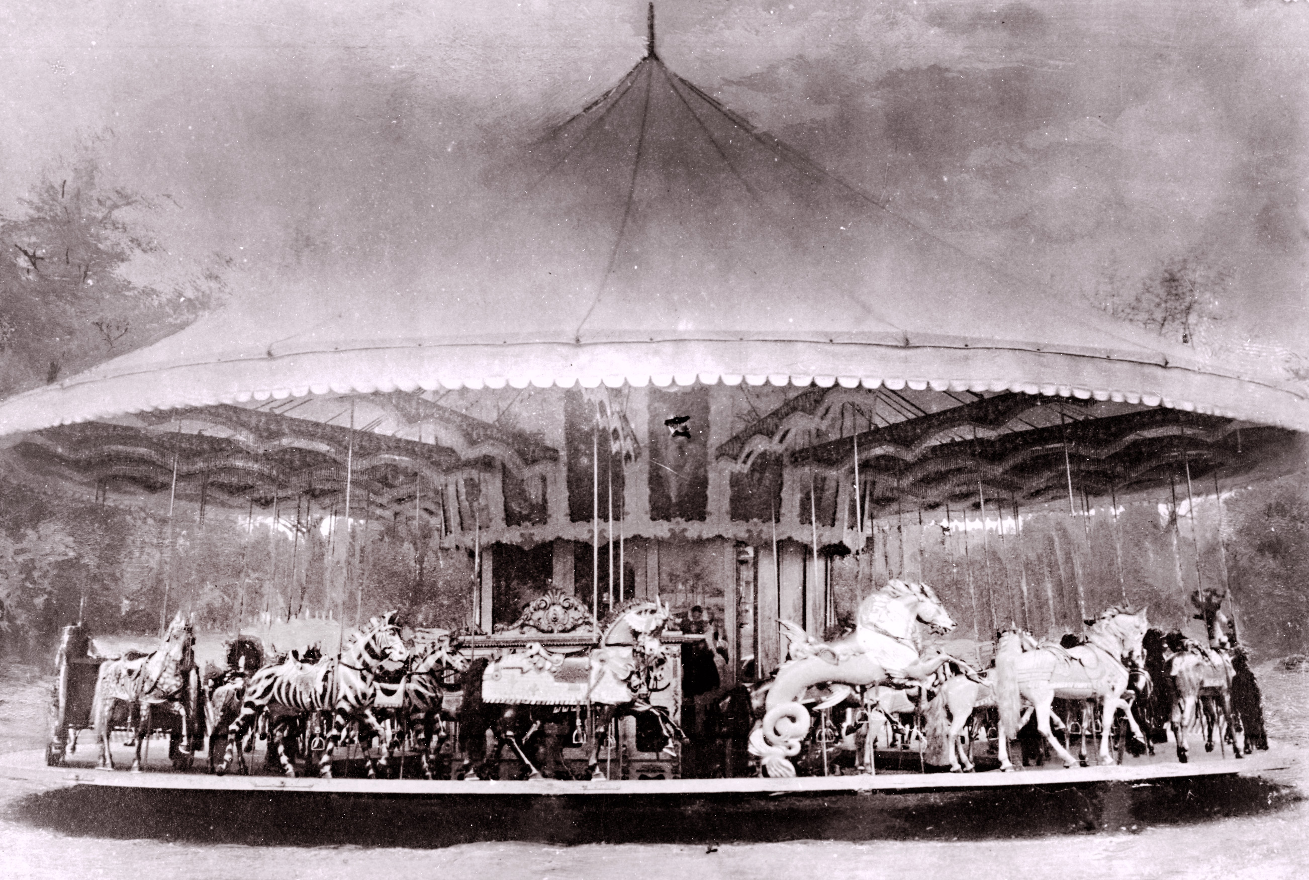 ca-1900-Muller-Dentzel-carousel-factory-photo