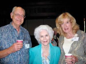 Historic carousel aficionado pioneers, Rol Summit, Marianne Stevens, and Jo Summit