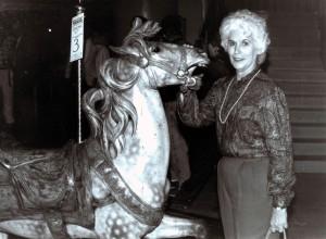 Maranne-Stevens-with-Muller-Military-carousoel-horse