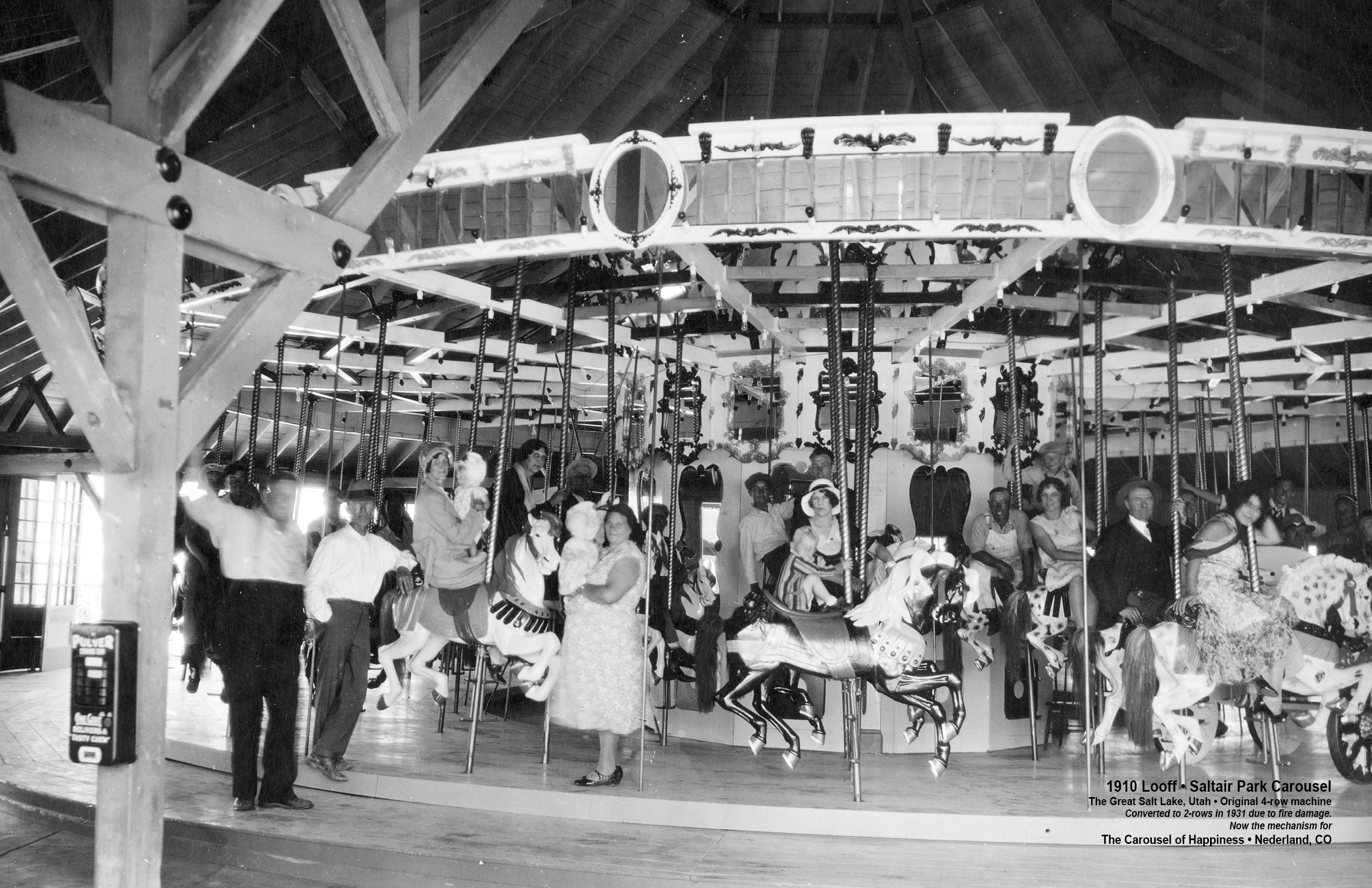 MAP – Historic Lost Carousels – 1880s – Present