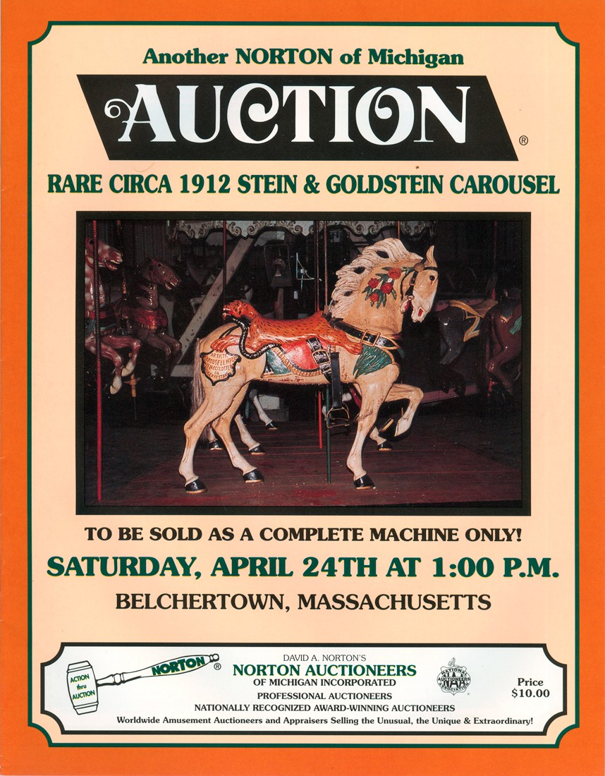Norton Amusement Park • Carousel Auction Timeline