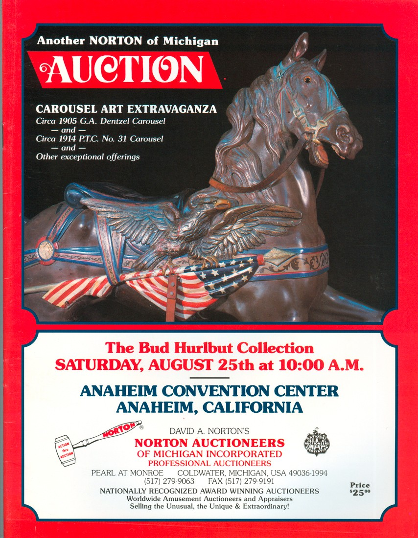 Bud-Hurlbut-carousel-collection-auction-cover
