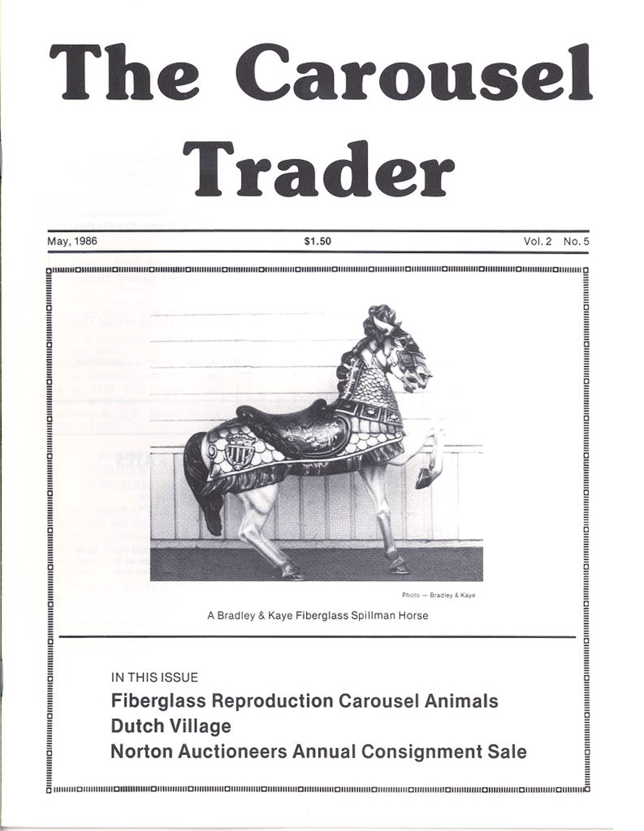 Carousel-News-05_1986-cover-Bradley-Kaye-Fiberglass-Animals