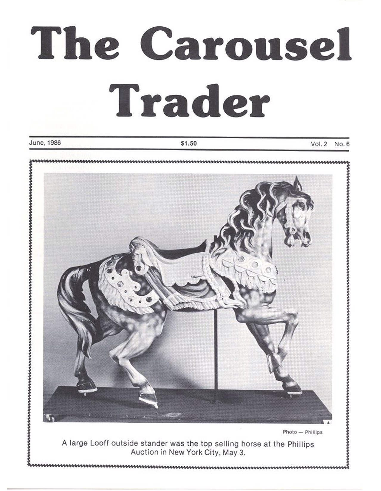 Carousel-News-06_1986-cover-Looff-carousel-horse-Phillips-NYC-Auction