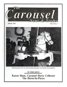 Carousel-News-cover-03_1987-Lake-Contrary-Park-Dentzel-jumper