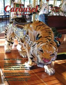 Carousel-news-cover-12-Rare-Looff-sneaky-tiger-Spokane-carousel-December-2010