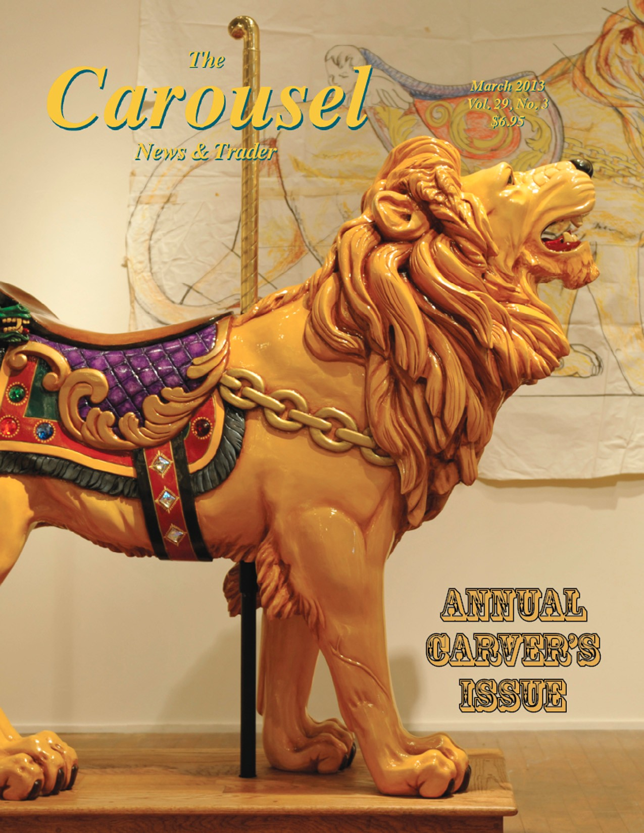 Carousel-news-cover-3-Ken-Means-carousel-lion-March-2013