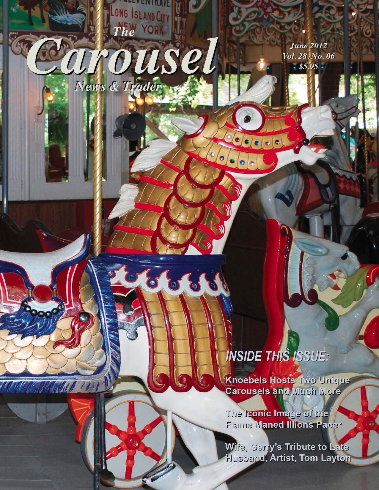 Carousel-news-cover-6-Knoebels-Grove-Grand-Carousel-Horse-June-2012