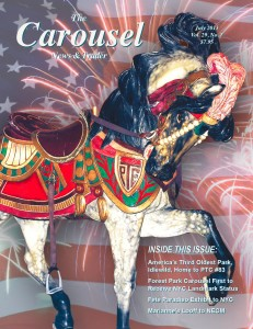 Carousel-news-cover-7-PTC-Circus-horse-Idlewild-carousel-July-2013
