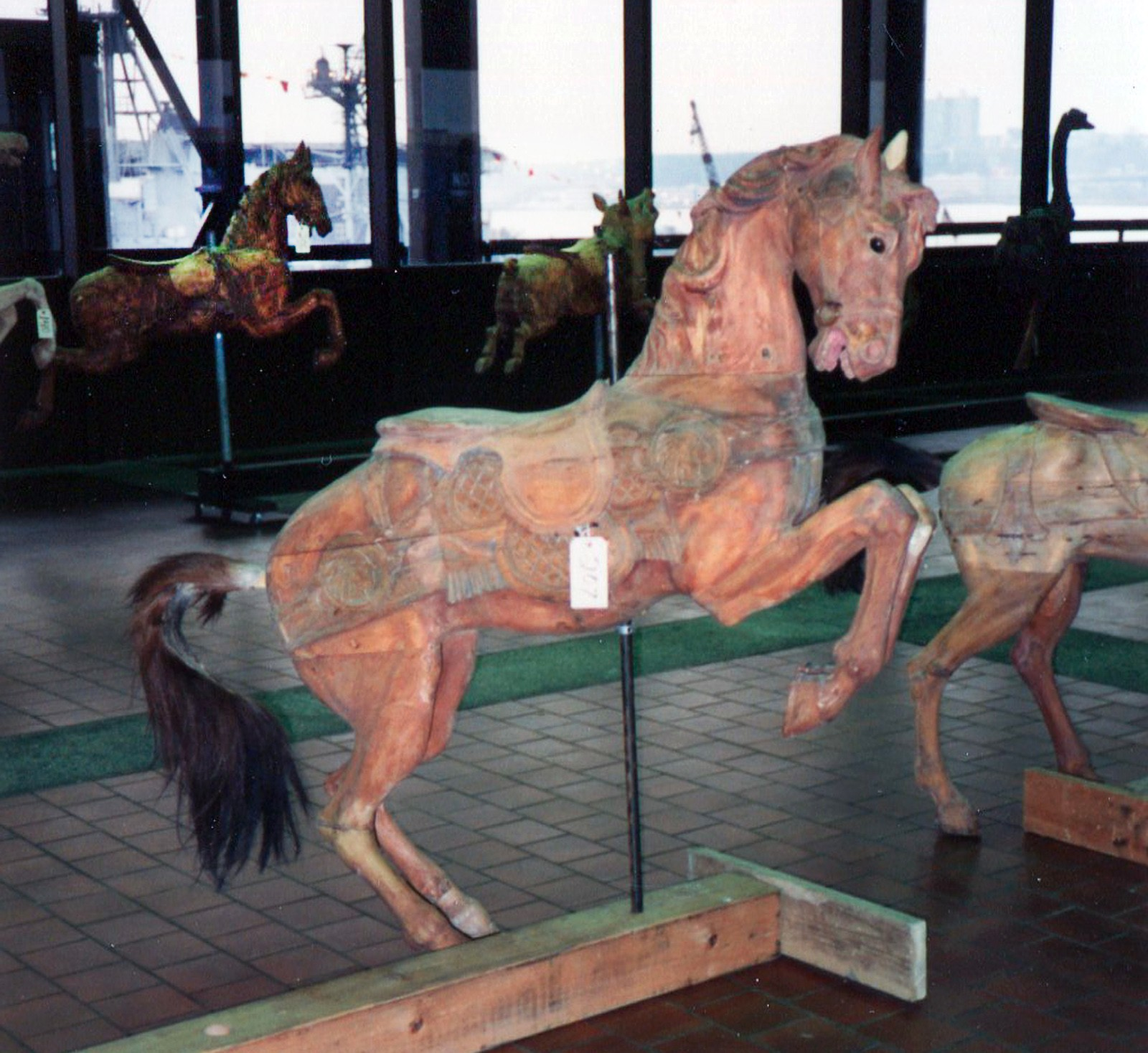 Dentzel-mare-prancer-carousel-horse-Great-Escape-auction