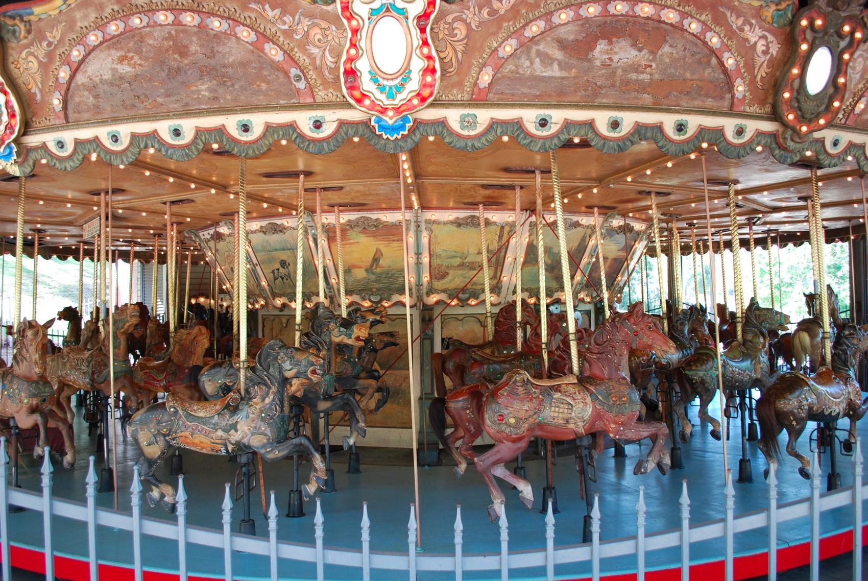 Historic-1926-Griffith-Park-Los-Angeles-carousel-3