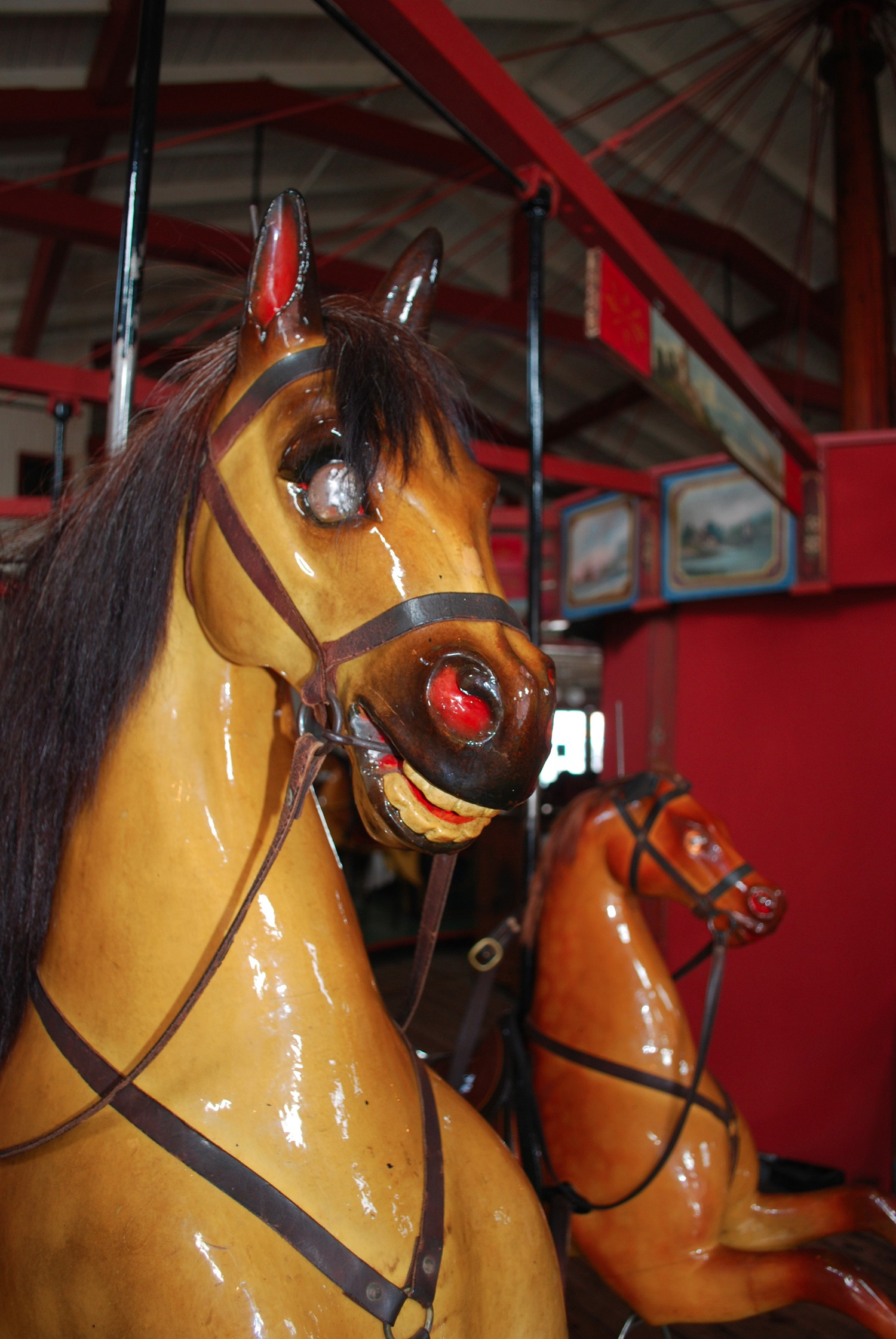 Historic-Marthas-Vineyard-Flying-Horses-carousel-2