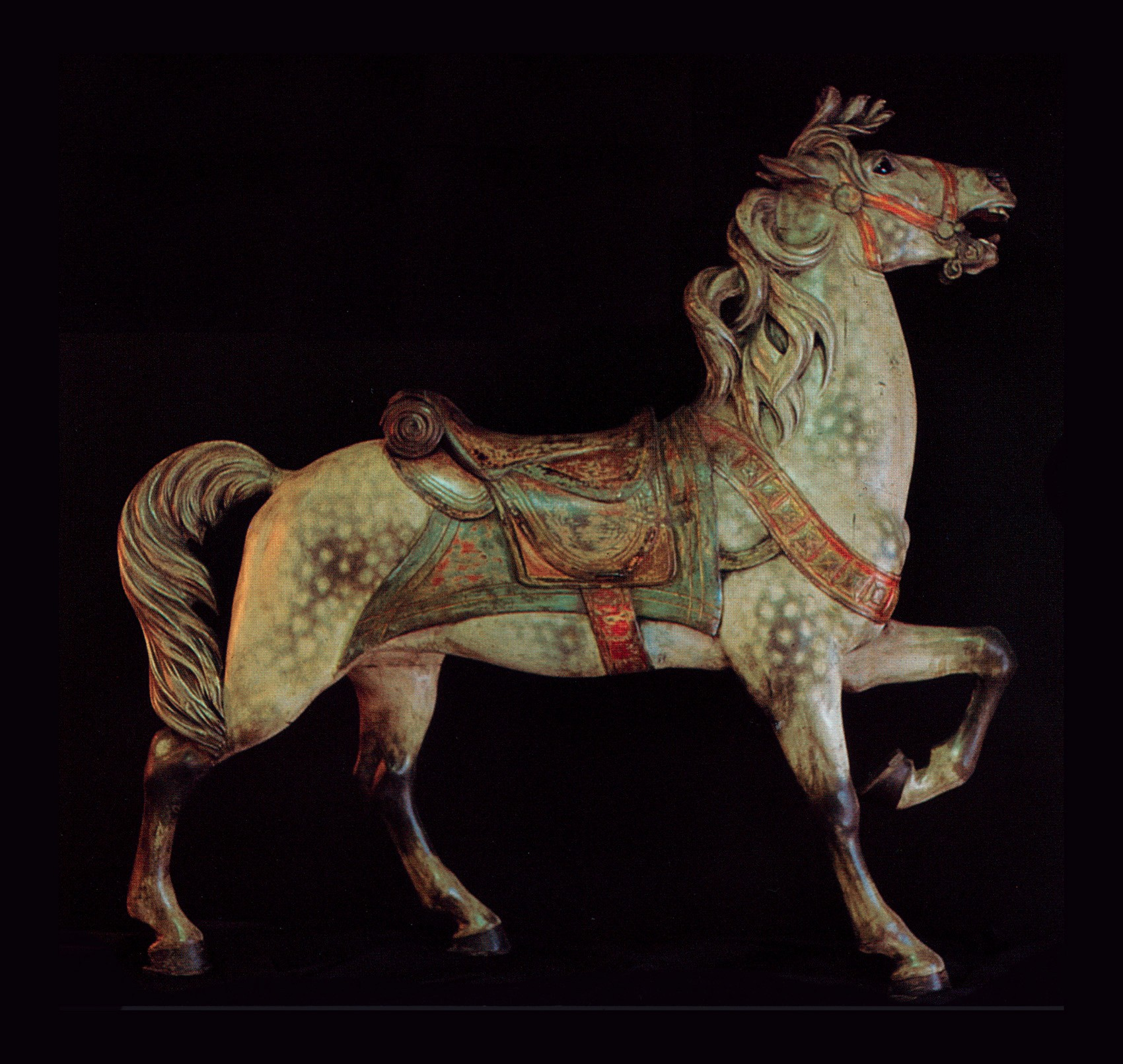 Original-paint-Muller-stander-carousel-horse