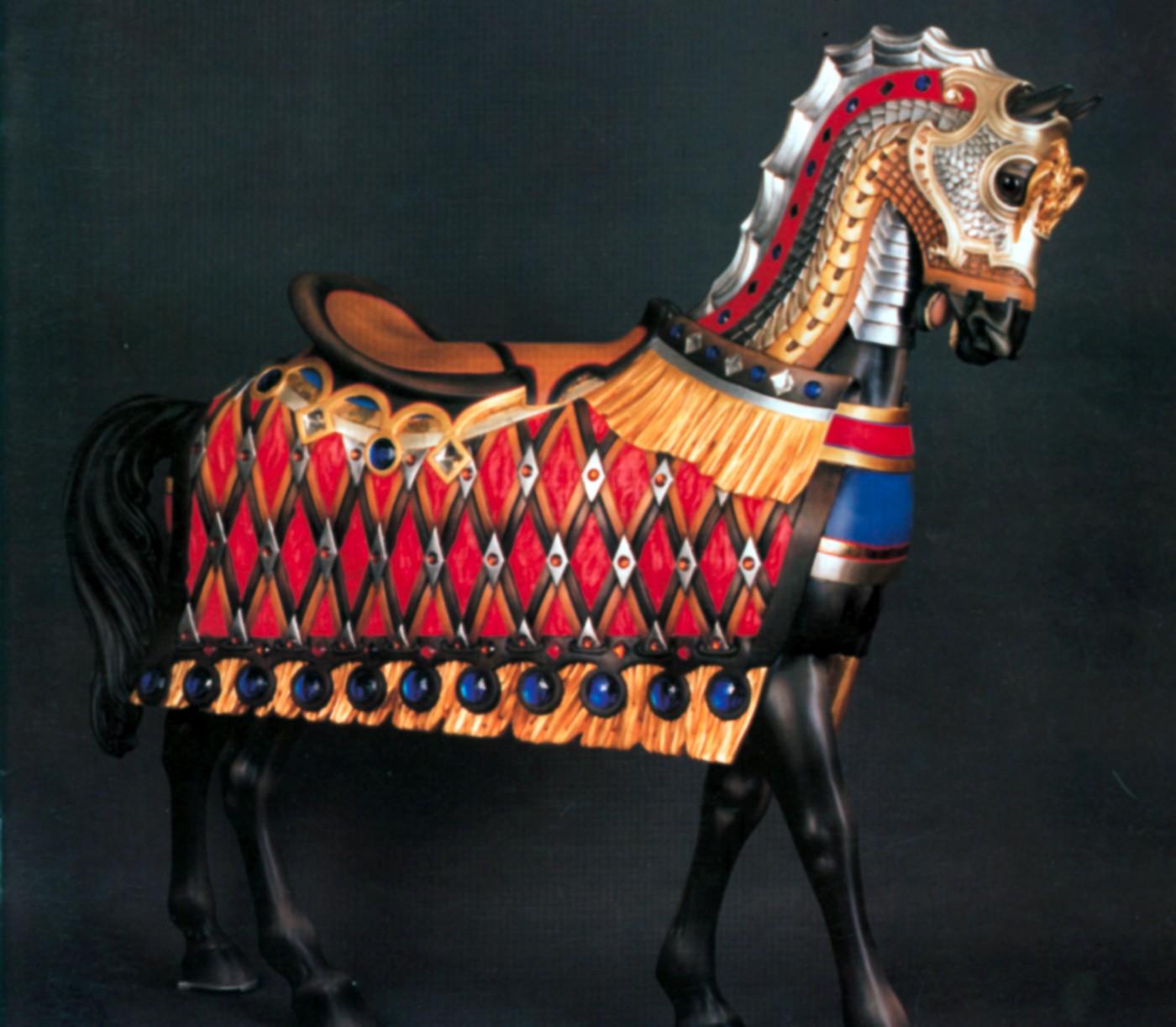 Six-Gun-Willow-Grove-Illions-carousel-armored