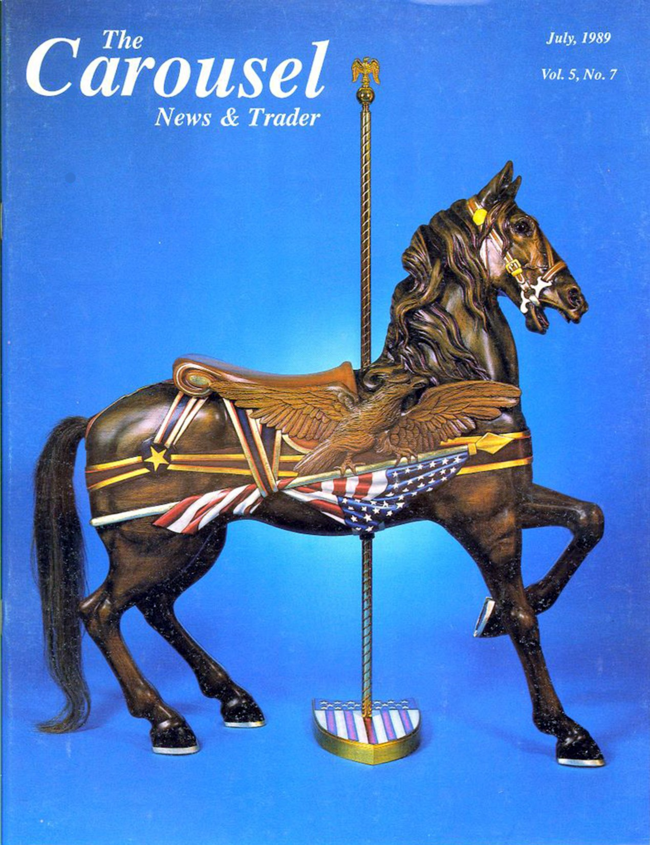 cnt_07_1989-cover-Dentzel-American-Flag-and-Eagle-carousel-horse