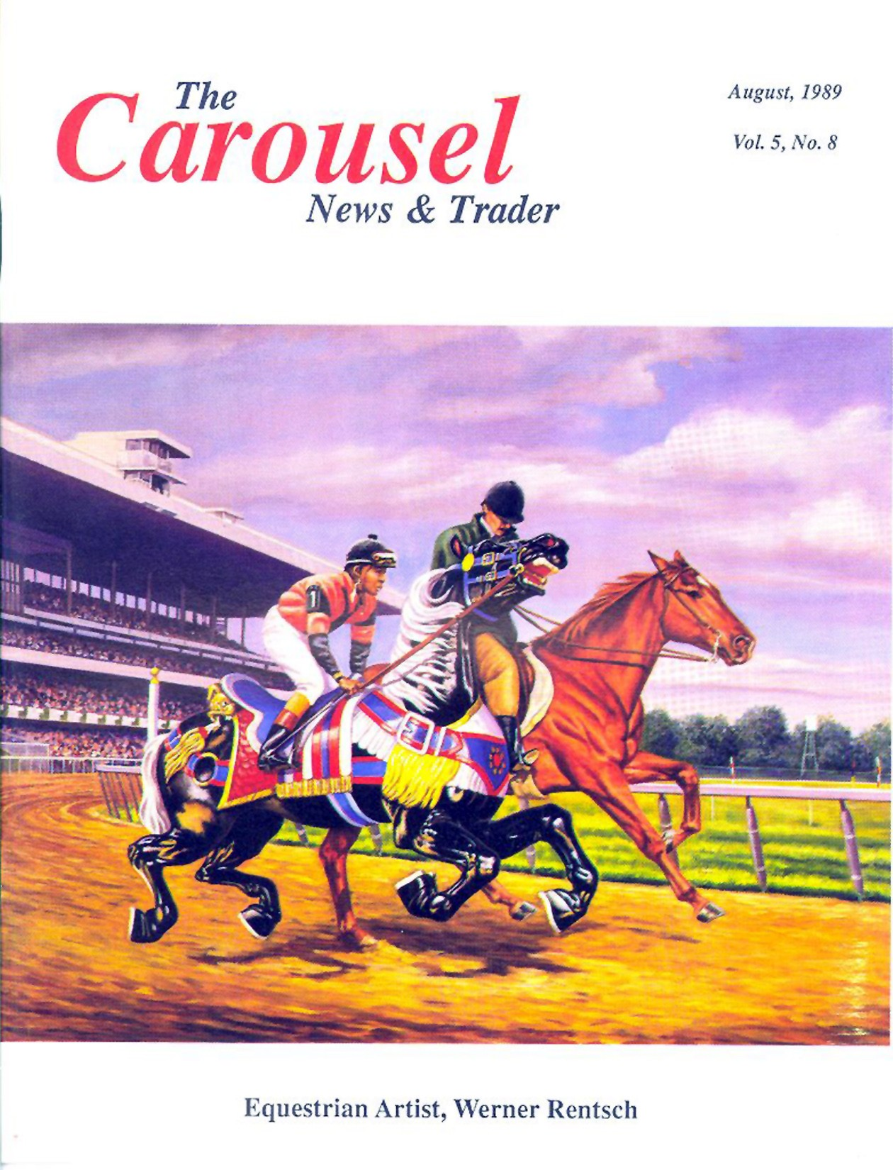cnt_08_1989-cover-Equestrian-artist-Werner-Rentsch