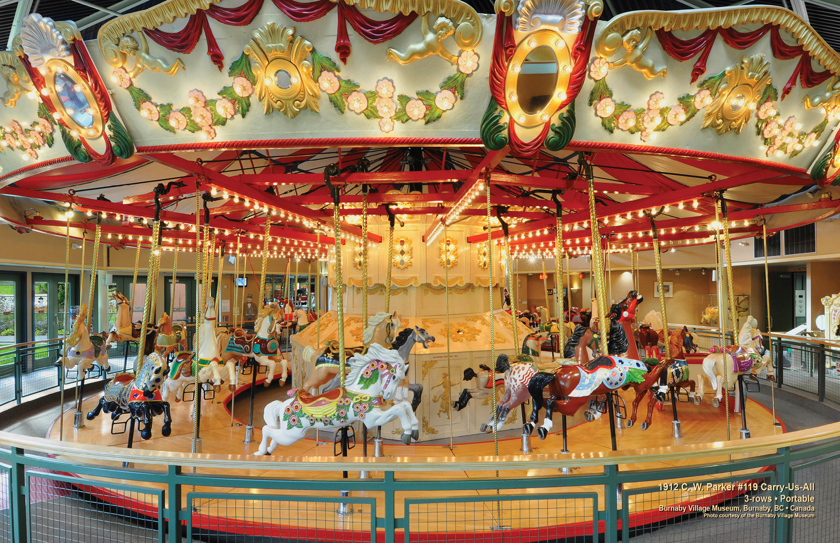 Operating Historic Carousel Galleries