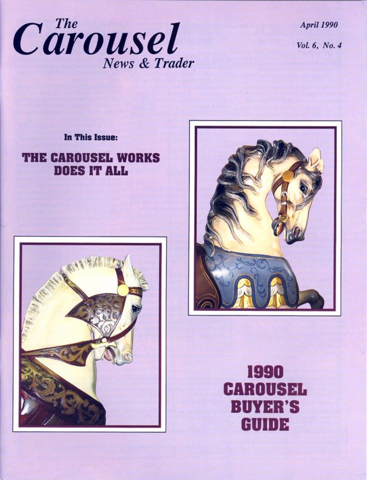 Carousel-News_04_1990-Looff-Muller-carousel-horse-restored