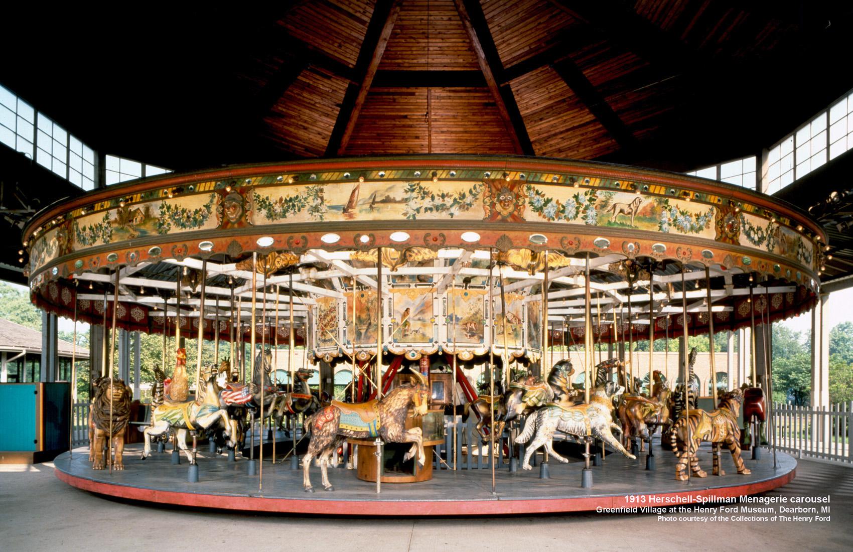 Historic-Herschell-Spillman-carousel-Greenfield-Village-MI-CNT-center-May-07