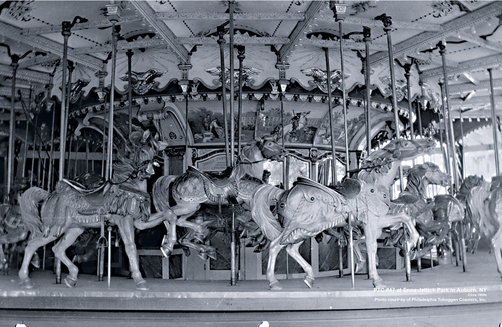 Historic-PTC-47-carousel-Enna-Jettick-Park-Auburn-NY-CNT-center-Jun-07