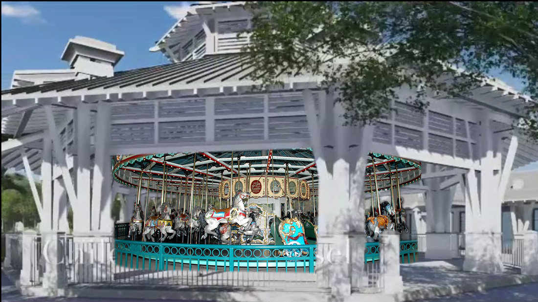 Naples Looks to Bring Historic Carousel to New Baker Park