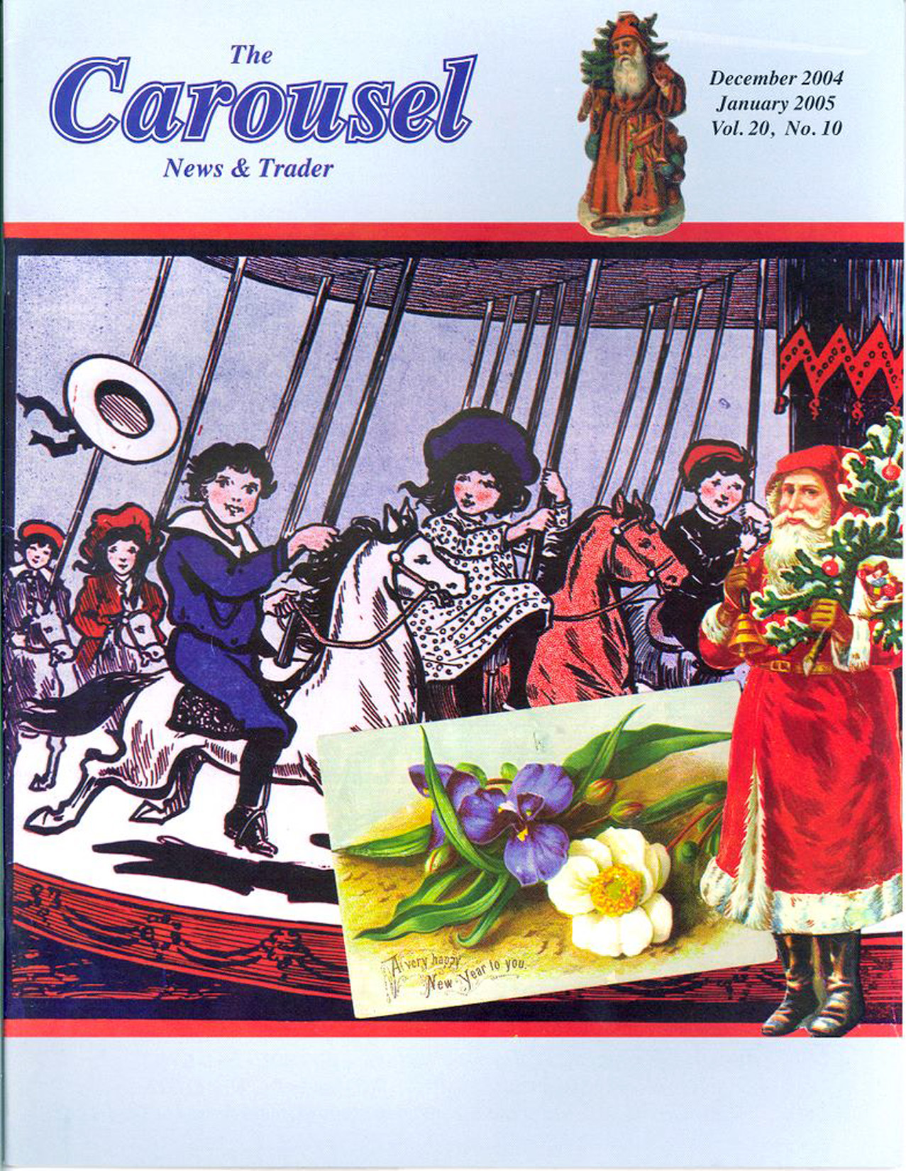 Carousel-news-cover-1_2005_12-04-Down-on-the-MerryGo-Round-sheet-music
