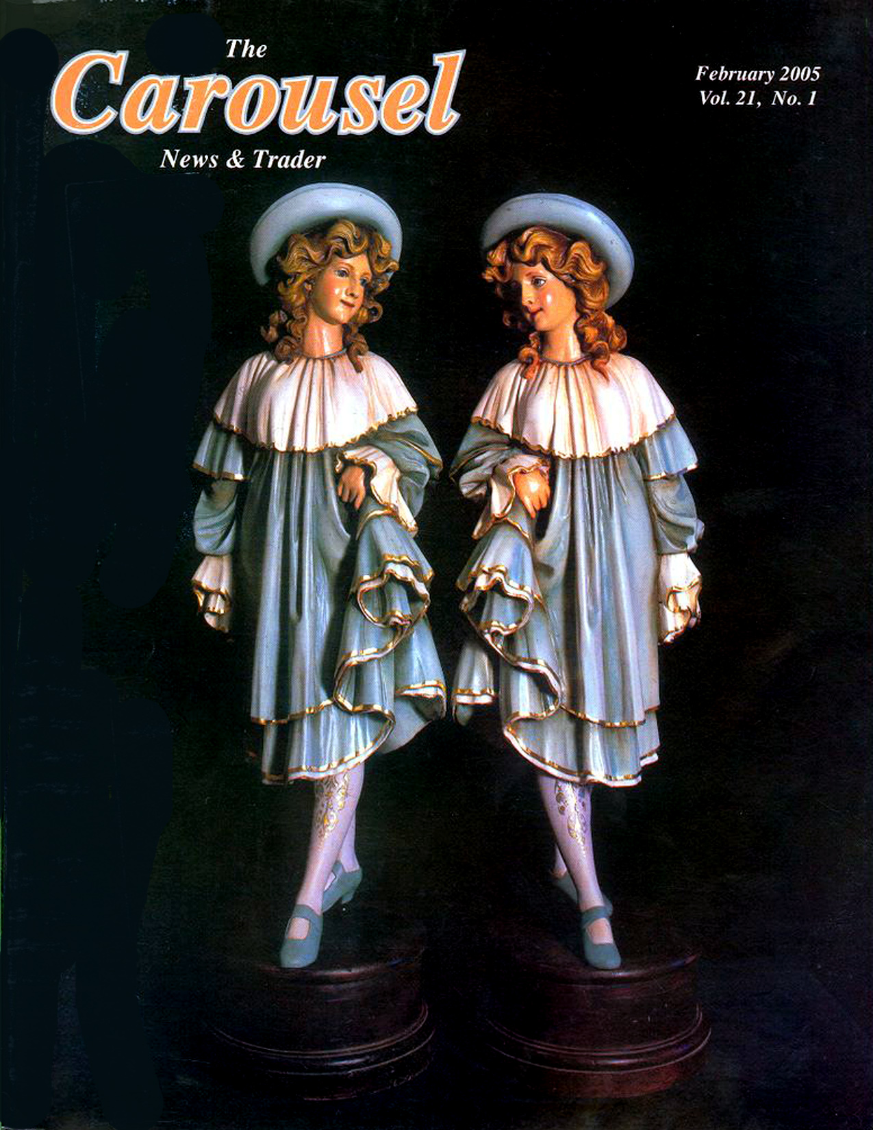 Carousel-news-cover-2_2005-Antique-Gavioli-band-organ-figures