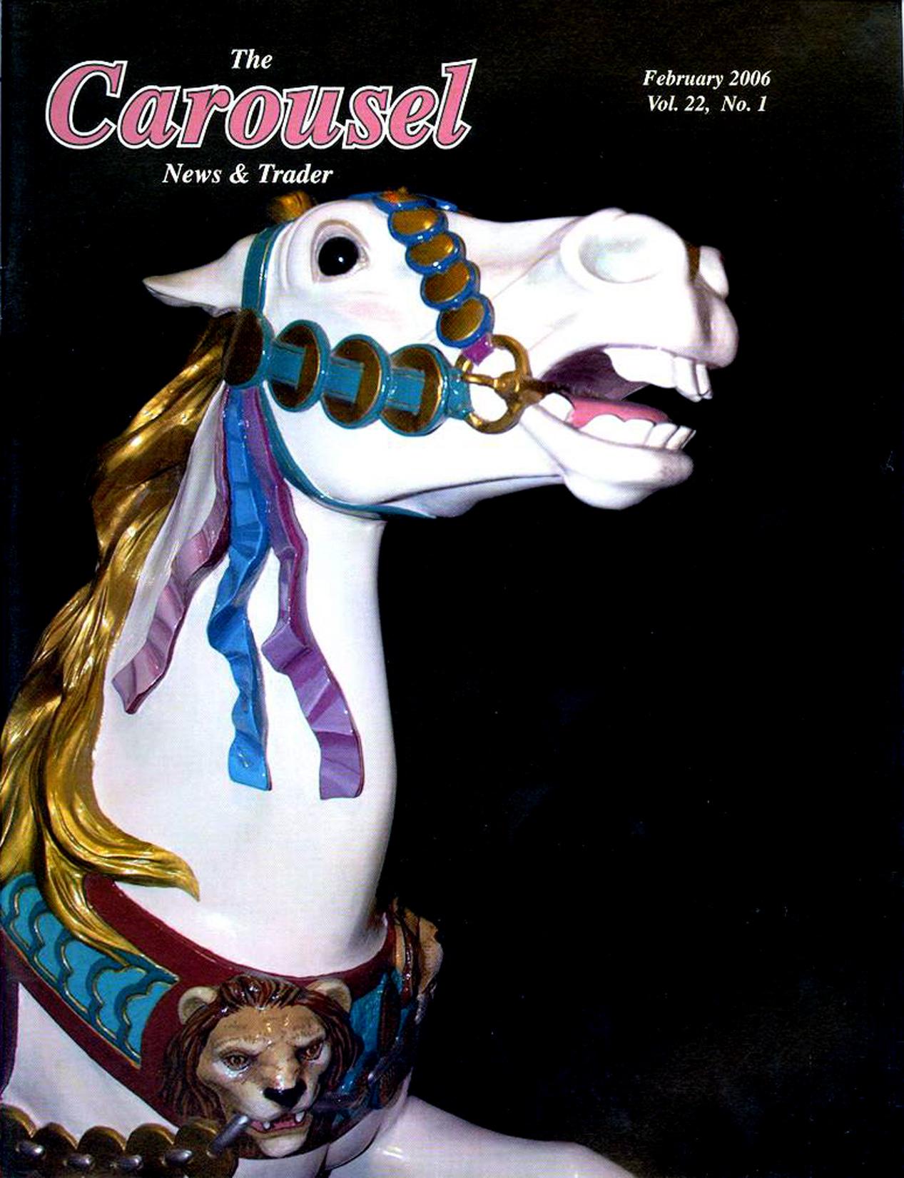 Carousel-news-cover-2_2006-Restored-PTC-45-carousel-horse-Zalar-carver