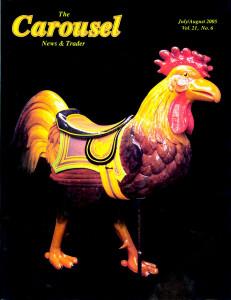 Carousel-news-cover-7_8_2005-Rocky-Springs-Dentzel-carousel-rooster