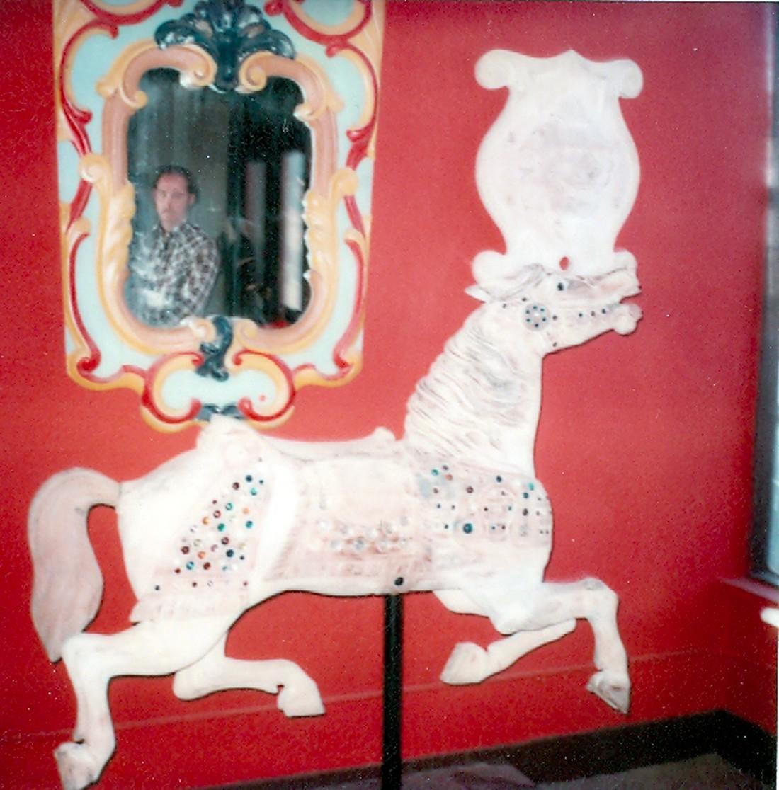 Fraley-Redbug-Carousel-restoration-studio-1980-visit