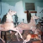 Fraley-Redbug-Studio-carousel-horse-restoration-1980-visit