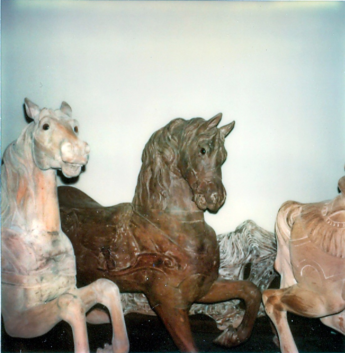 Fraley-Redbug-Studio-carousel-restoration-1980-visit-Dentzel-horse