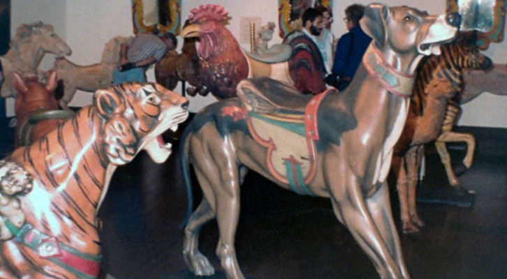 Monterey Art Museum - 1982 Carousel Figure Exhibit