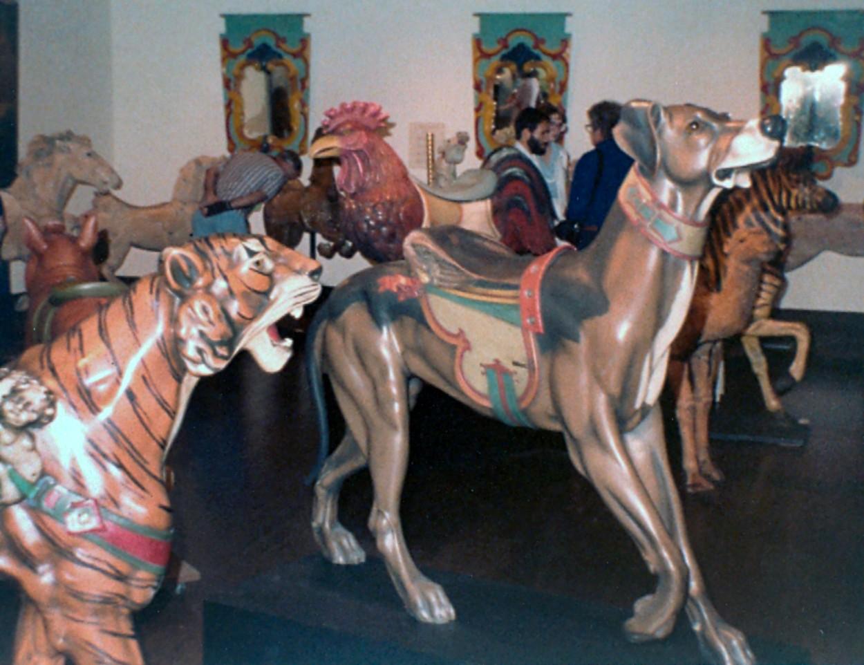 Monterey Art Museum – 1982 Carousel Figure Exhibit