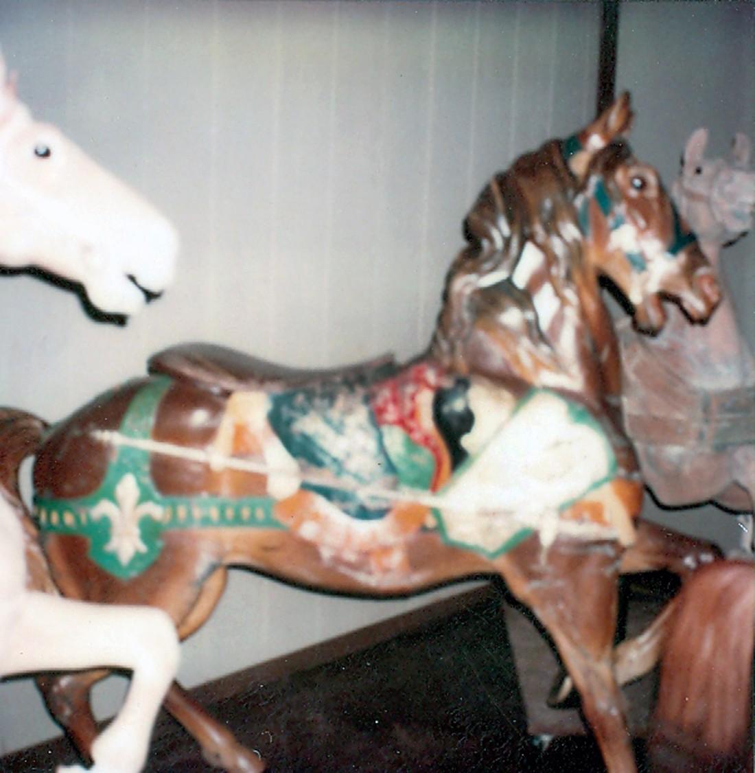 Redbug-Studio-Dentzel-carousel-horse-restoration-1980
