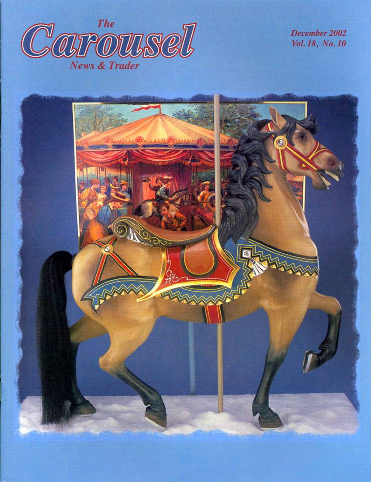 cnt_12_2002-Ca-1890-Dentzel-carousel-horse-Tony-Orlando-16th-holiday-cover