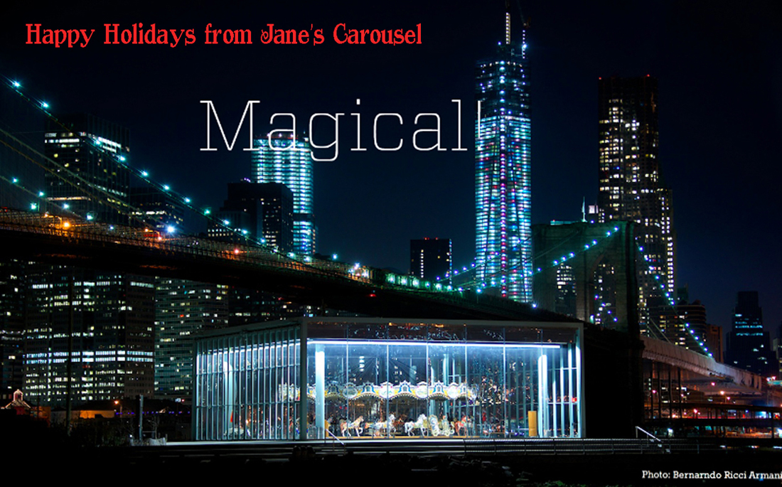 New_York_Janes_Carousel_Holiday-Greeting-card-2014