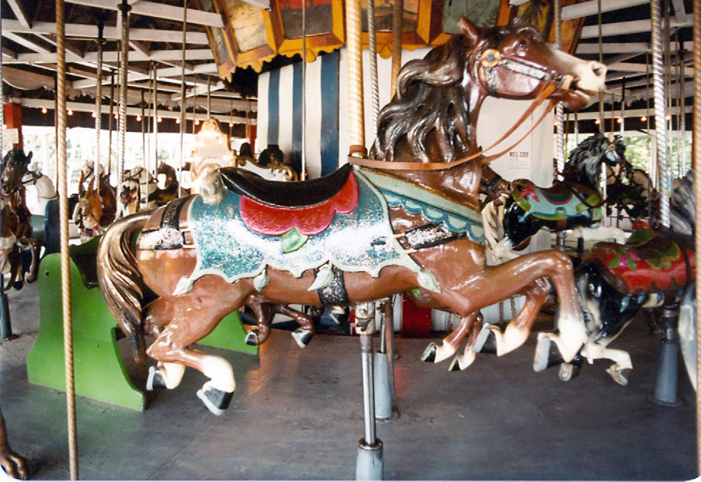 1902-E-Joy-Morris-Menagerie-Carousel-Quassy-Lake-Park-1979-photos-026