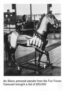 Fun-Forest-Illions-armored-carousel-horse-33-thousand-Dec-88