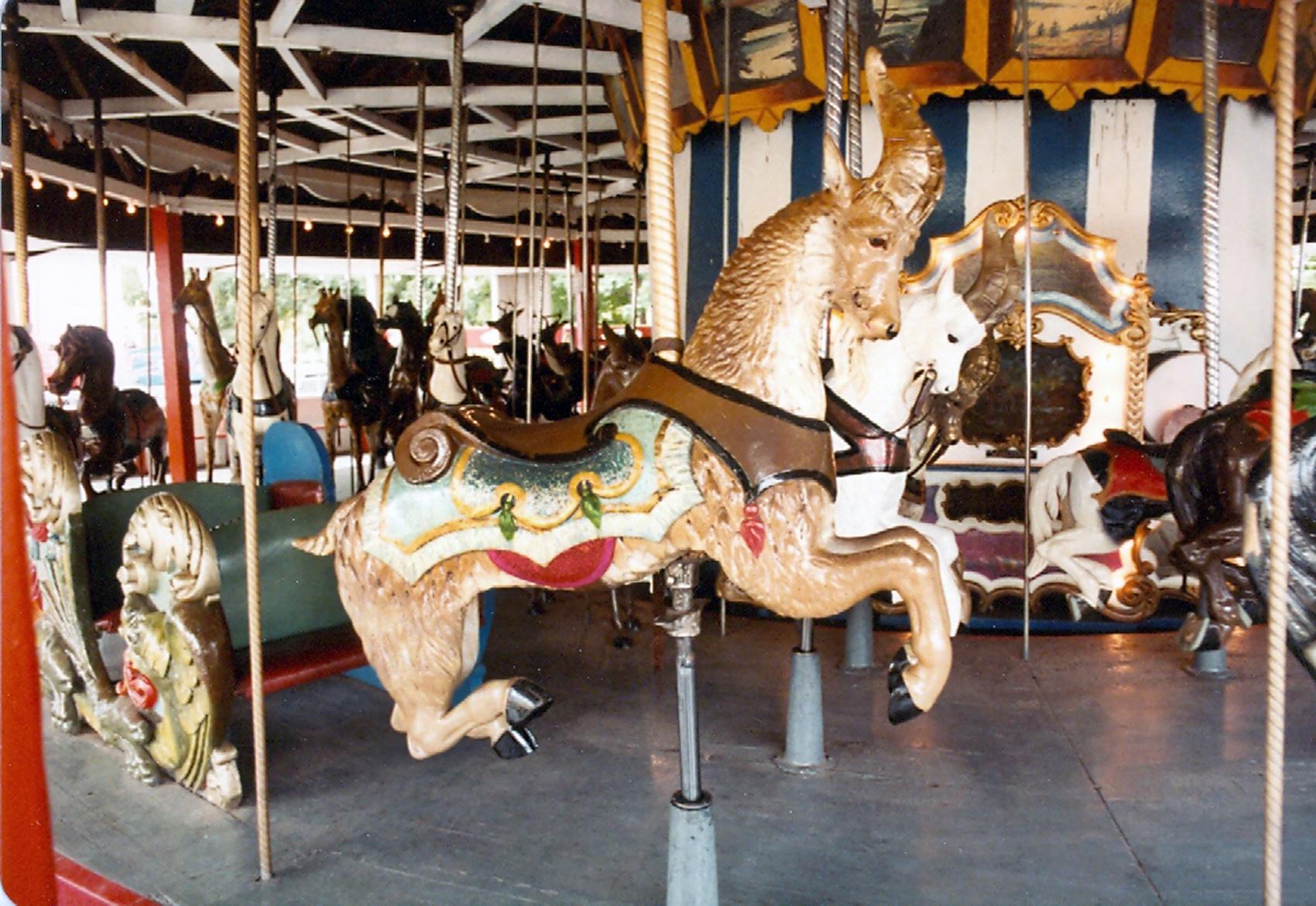 Lake-Quassy-CT-1902-E-Joy-Morris-carousel-goat