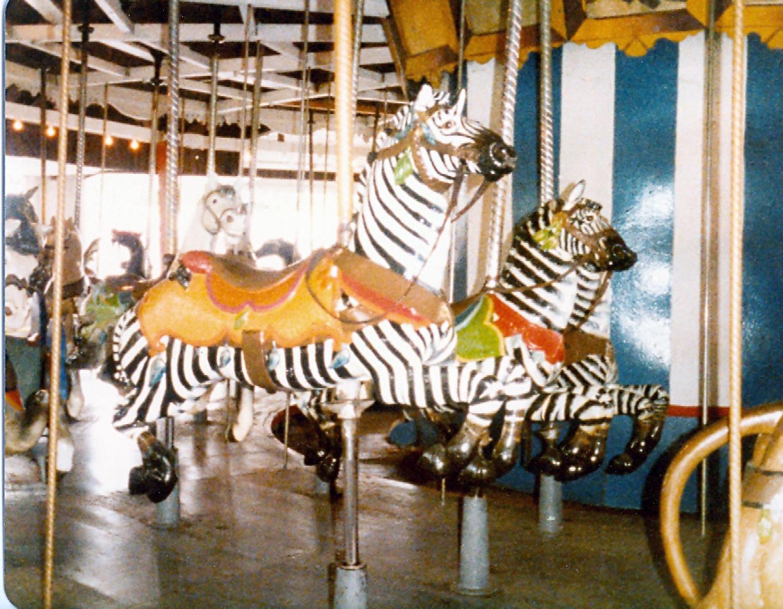 Lake-Quassy-CT-1902-E-Joy-Morris-carousel-zebra-2