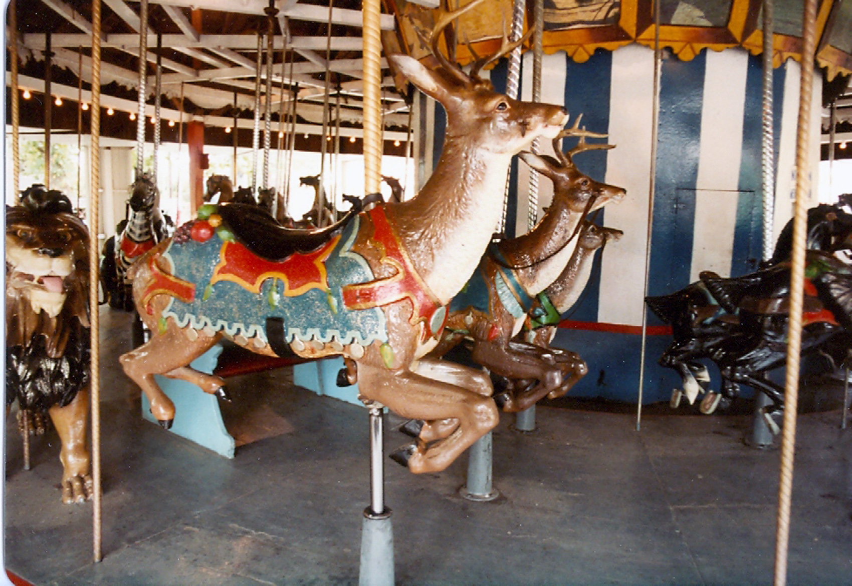 Lake-Quassy-E-Joy-Morris-carousel-deer