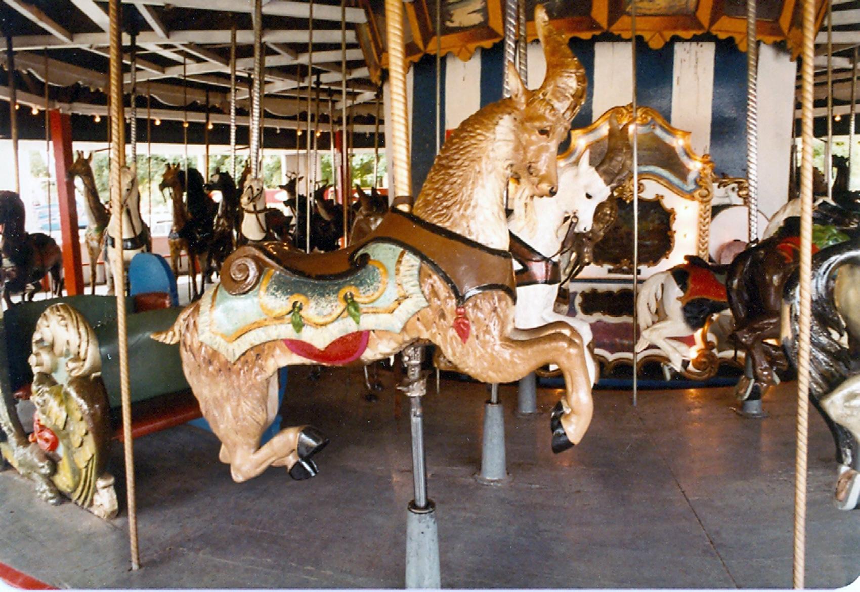Lake-Quassy-E-Joy-Morris-carousel-goat