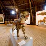 Shelburne-Museum-Original-paint-Dentzel-carousel-tiger