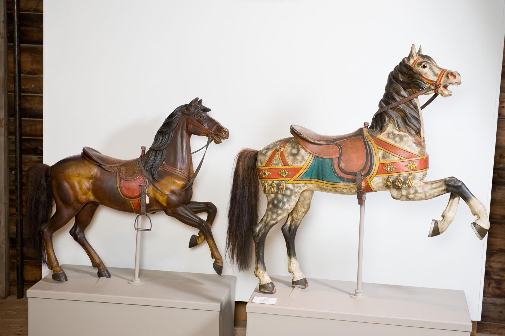 Shelburne-Museum-VT-historic-Dentzel-carousel-horses