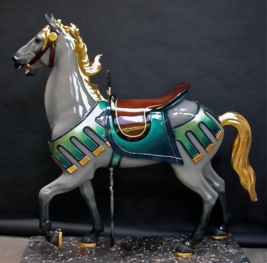 1927-Illions-supreme-carousel-horse-restored-ll-2n