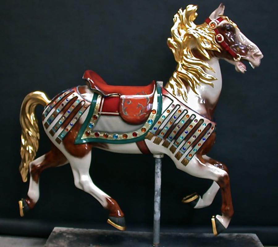 1927-Illions-supreme-carousel-horse-restored-ll-3