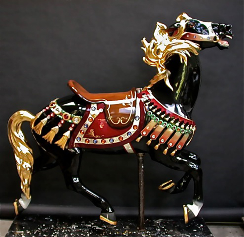 1927-Illions-supreme-carousel-horse-restored-ll-4