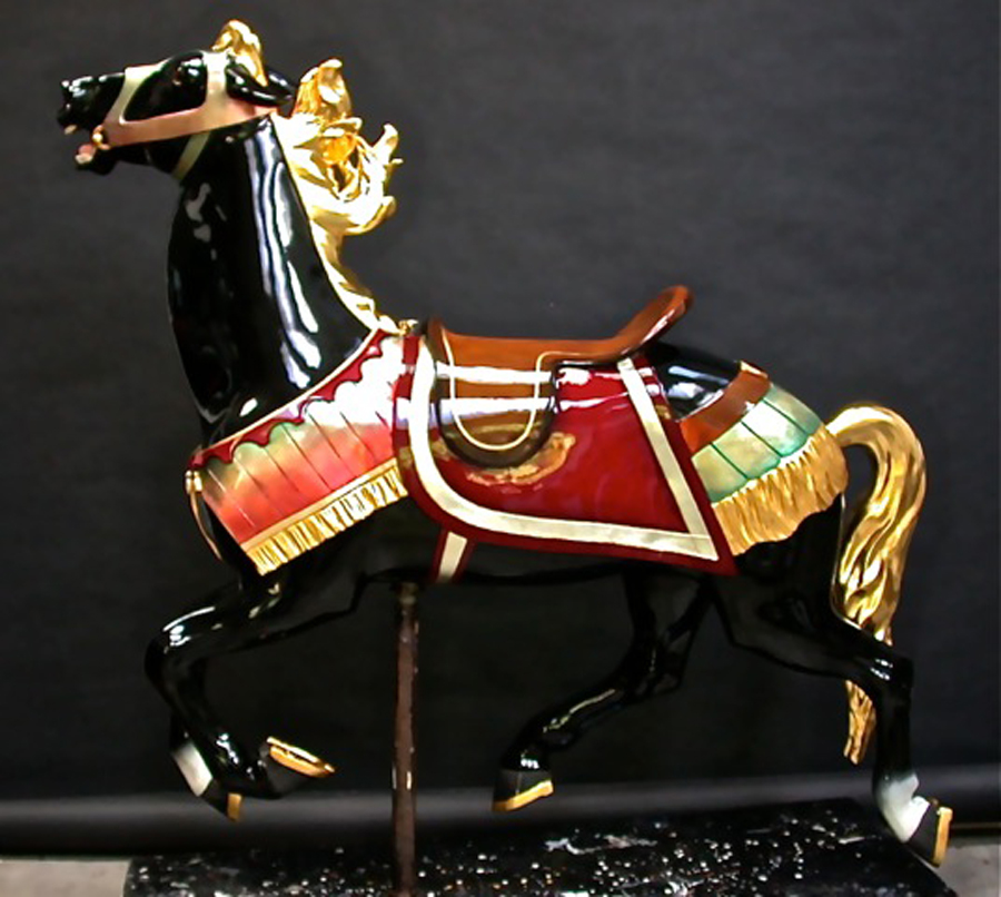 1927-Illions-supreme-carousel-horse-restored-ll-4n